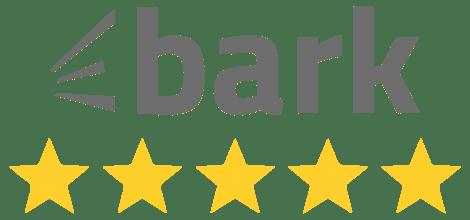 Marquee Hire bark logo 5 stars