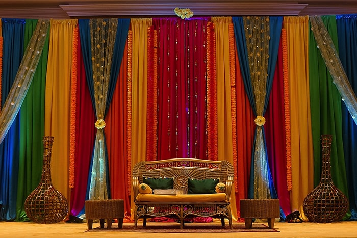 mehndi stage hire