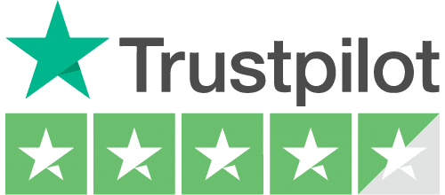 Marquee Hire Trust Pilot logo 5 stars