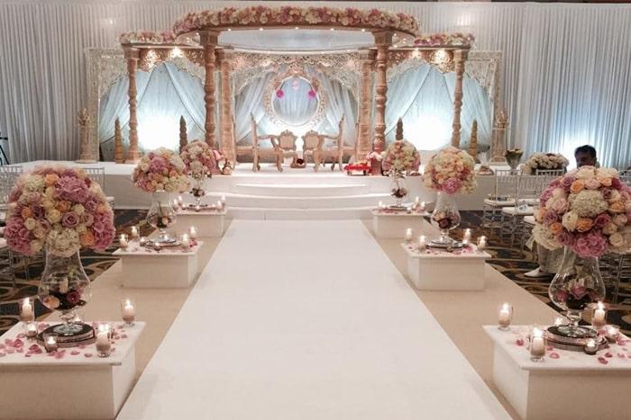 wedding decor hire